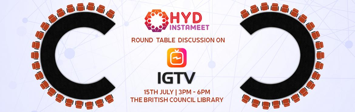 Book Online Tickets for Hyderabad Instagrammers Meet 2.2 - IGTV , Hyderabad. HydInstaMeet is back with another reason to celebrate Instagram!! With all that fresh buzz surrounding IGTV, don't you think we should get together and understand what's the big deal? And even if you don\'t give a damn about what IGTV is,