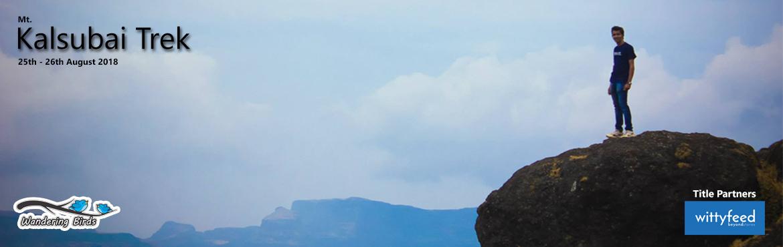 Book Online Tickets for Mt Kalsubai Trek, Ahmednagar. Kalsubai Trek(Highest Peak Of Maharashtra)Kalsubai (5400 ft.)is highest peak of Maharashtra which lies on sahyadri ranges. It is 4 to 5 hrs trek. There is small temple on top. The base village of Kalsubai is Bari. On the way of this trek three