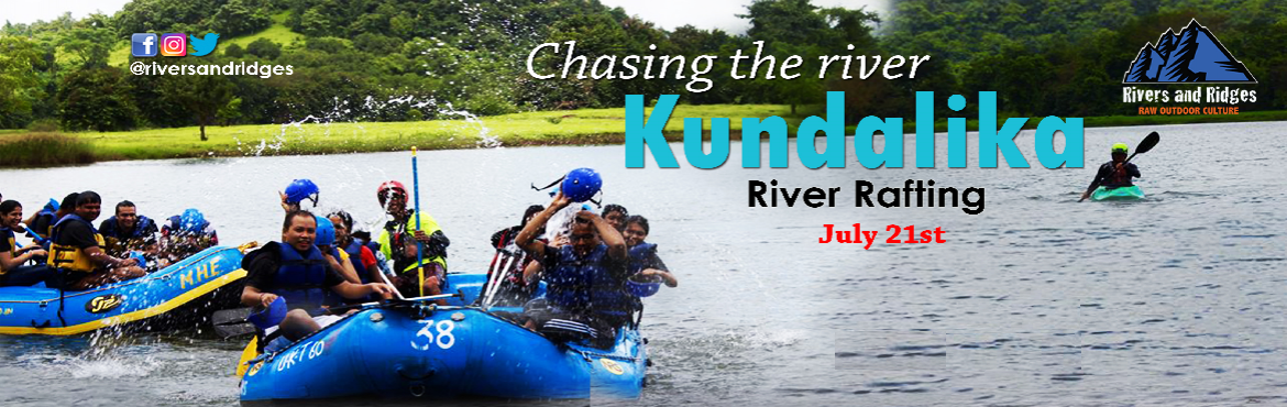 Book Online Tickets for River Rafting at Kundalika River, Mumbai. Dear Friends,This is a perfect getaway for the monsoon, the season is painted with shades of green and cool blues. The river is paved with lush green trees cascading into the surrounding hills. Enjoy the amazing bumpy ride on Kundalika River where th