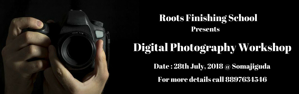 Book Online Tickets for Hands on Digital Photography Workshop, Hyderabad. From AUTO to Manual !! Whether you need focused training with your own camera or some serious professional portfolio project, this workshop covers it all. Become a pro with your camera controls and learn the Fine Art of photography.  With Roots