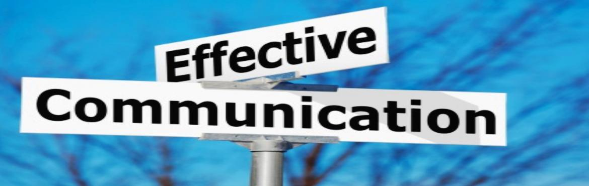 Book Online Tickets for Effective Communication Skills, Mumbai. There are few businesses in the world that do not suffer from some form of communication problem. Yet effective and efficient communication is universally regarded as a key ingredient in success. During this workshop we look at different levels of co
