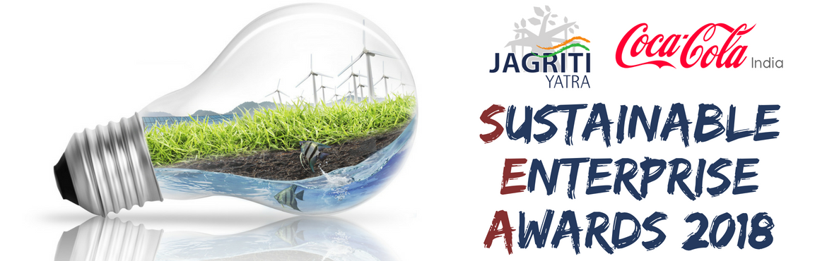 Book Online Tickets for SUSTAINABLE ENTERPRISE AWARDS 2018 - PUN, Pune. Sustainability has always been among the prime topics discussed across the new enterprises when growth becomes a concern.   There is a need to instill a tradition of self-reliance, creativity and growth in the indian economy. The success of whic