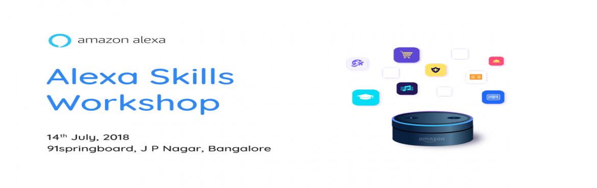Book Online Tickets for Alexa Skills Workshop Bangalore, Bengaluru. Join us to learn how to build compelling voice experiences for Alexa, the service that powers millions of devices, including Amazon Echo, Echo Dot and Echo Spot.   Attendees will receive an introduction to Alexa and in-depth training on how to b