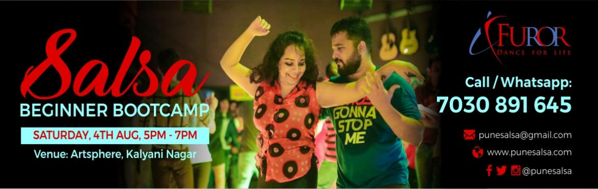 Book Online Tickets for SALSA BEGINNER BOOTCAMP | 4th August | K, Pune. Salsa Beginner Bootcamp for the the month of August is here!!! We bring back this super fun and popular way to start your journey as a Salsa dancer. Learn the basic steps (footwork & partnerwork) of this extremely groovy dance form in our 2 hour