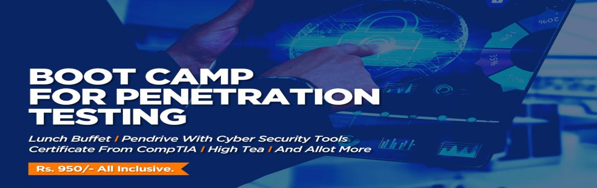 Book Online Tickets for Cyber Security Boot Camp for Penetration, Pune. ATTENTION!!! All Engineers, IT Professionals & Non-IT People Who Would Like To Make A Career In Cyber Security. This Is Your Chance To Enter In The World's Most In-Demand Field. Apply Now!!!  > 7 Hours Penetration Testing Training