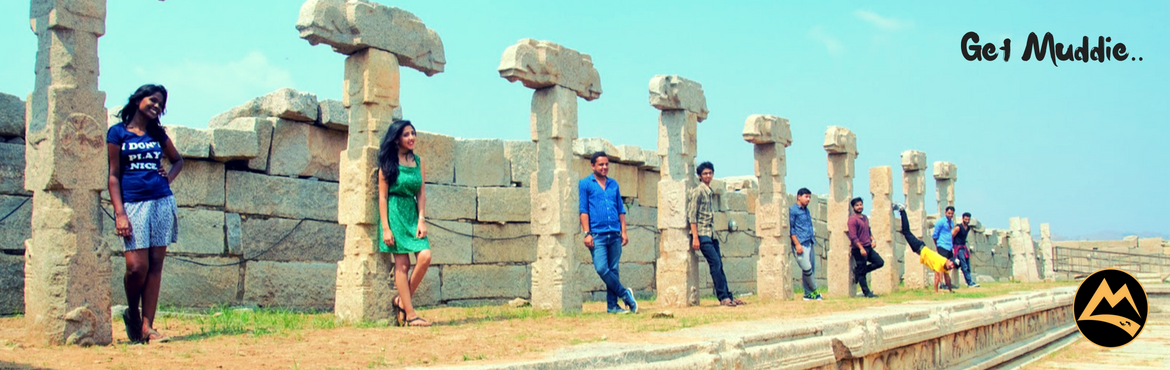 Book Online Tickets for The Hippie Island of Hampi - Camp and Hi, Hyderabad. Haelloooo Hyderabadis!    Let\'s experience the laid back attitude of \