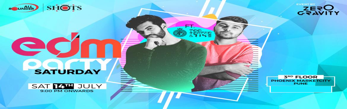 Book Online Tickets for EDM Party, Pune. All Rounder Shots and Zero Gravity present to you: EDM Party. Trippy lights and exhilarating drops. This one is for you electronic and club music fans!Cover charge of 300 for individuals and 500