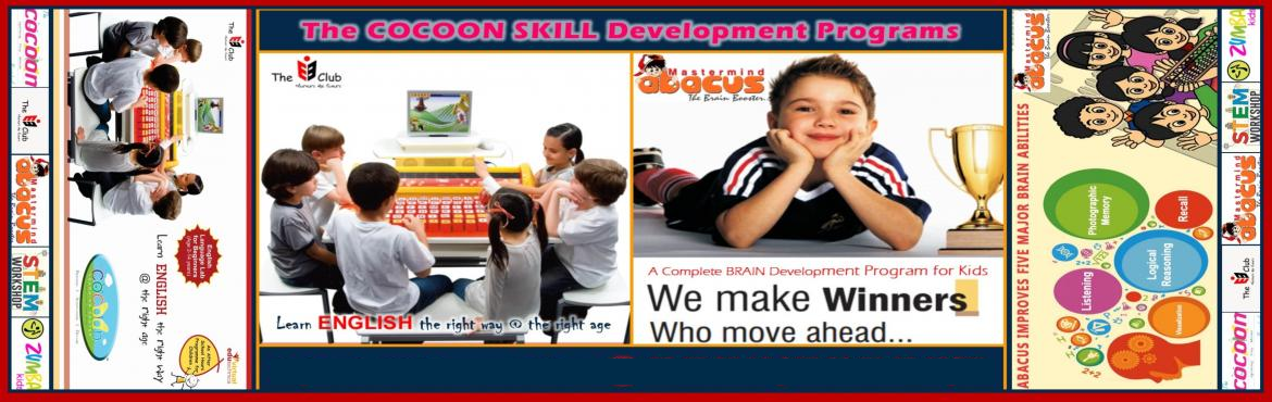 Book Online Tickets for The COCOON SKILL Development Programs Fr, Chennai. The COCOON Learning Center, a multidimensional Skill Development cum Activity Center is offering FREE Assessment and DEMO Sessions for the following Afterschool Hours SKILL Development Programs   I    The EB Club - Engli