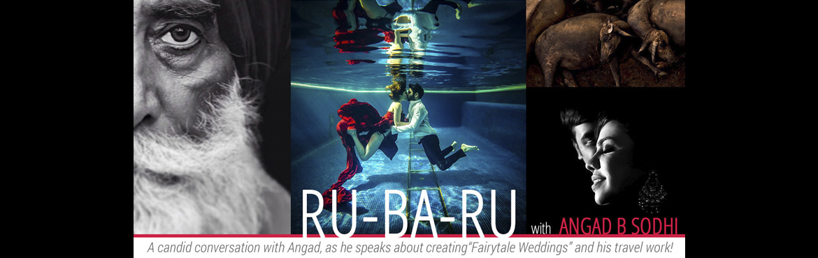 Book Online Tickets for Ru-Ba-Ru with Angad B Sodhi, New Delhi. 'Ru-ba-Ru' is a photocommune initiative where we invite young rising talent along with masters of photography to showcase their work and talk about their journey as a professional. A candid conversation Angad Sodhi as he talks about