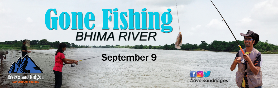 Book Online Tickets for Gone Fishing at Bhima River, Pune. Ahoy anglers!!Our Second batch for angling is here!This fishing camp is a part of our recreational sports area where we teach angling as a sport (catch and release). Angling is practiced worldwide and has various attributes such as competition, chall