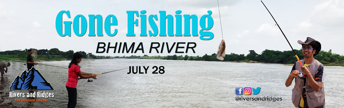 Book Online Tickets for Gone Fishing at Bhima River, Pune. Ahoy anglers!!Our batch for angling is here!This fishing camp is a part of our recreational sports area where we teach angling as a sport (catch and release). Angling is practiced worldwide and has various attributes such as competition, challenge, e