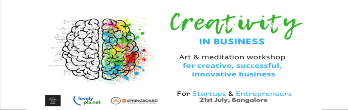 Book Online Tickets for Art and Meditation , Bengaluru. The workshop aims to guide you to harness your inner creativity through art & meditation to help you create a successful and innovative business.The workshop will take you through an inner journey beyond your finite mind and connect you with your