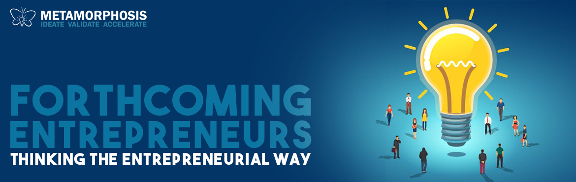 Book Online Tickets for Forthcoming Entrepreneurs, Hyderabad.  Experience. Evolve. Grow.\'Forthcoming Entrepreneurs\' is a 90 minute workshop that will introduce you to the life-cycle of an Entrepreneur and the skill sets they possess that sets them apart. These skill sets are not just for the ones who wis