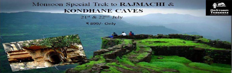 Book Online Tickets for Trek to Rajmachi fort and Kondhane Caves, Pune. ONSTORM TREKKERS PresentsAdventure Monsoon TrektoRAJMACHI & KONDHANE CAVES  DATE:- 21st & 22nd JulyCATEGORY:- TrekkingDIFFICULTY LEVEL:- EasyENDURANCE LEVEL:- MediumALTITUDE:- 2710 ft. approxDURATION:- 1 Night 1 day &n
