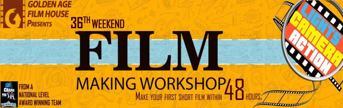Book Online Tickets for 36TH WEEKEND FILM MAKING WORKSHOP BY GOL, Bengaluru. Make your first short film within 48 hours. Aspects covered : Basics of Screenplay writing | Story boarding | Casting | Acting | Direction | Cinematography | Editing | Dubbing | Music Along with the theory session about various aspects of film making