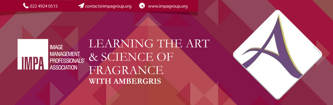 Book Online Tickets for Learning the Art and Science of Fragranc, Mumbai. Ambergris is India\'s first fragrance experience creator. They work with individuals, premium hospitality chains, retail brands, F&B outlets, designers and private banks to help them with fragrance as an element to connect to their TG better. The