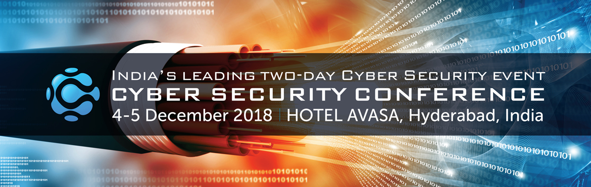 Book Online Tickets for Cyber Security Conference 2018, Hyderabad. Hyderabad is recognized as one of the global centers of information technology, making it an ideal venue for hosting the cybersecurity community within the frame of the Cyber Security Conference.  India's leading two-day Cyber Se