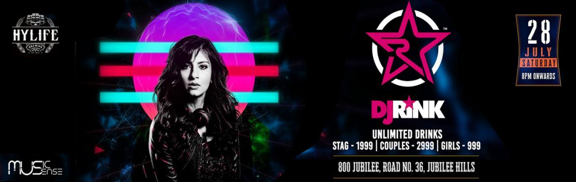 Book Online Tickets for Bollywood Night with DJ Rink At HYLIFE, Hyderabad.   Hyderabad, are you ready for the biggest transformation in Music?Bollyboom is coming to Hylife Brewing Company on Saturday 28th July 2018 with desi diva Dj Rink; who is ready to take over the console and moving it to her beats.Confused? Bollyb