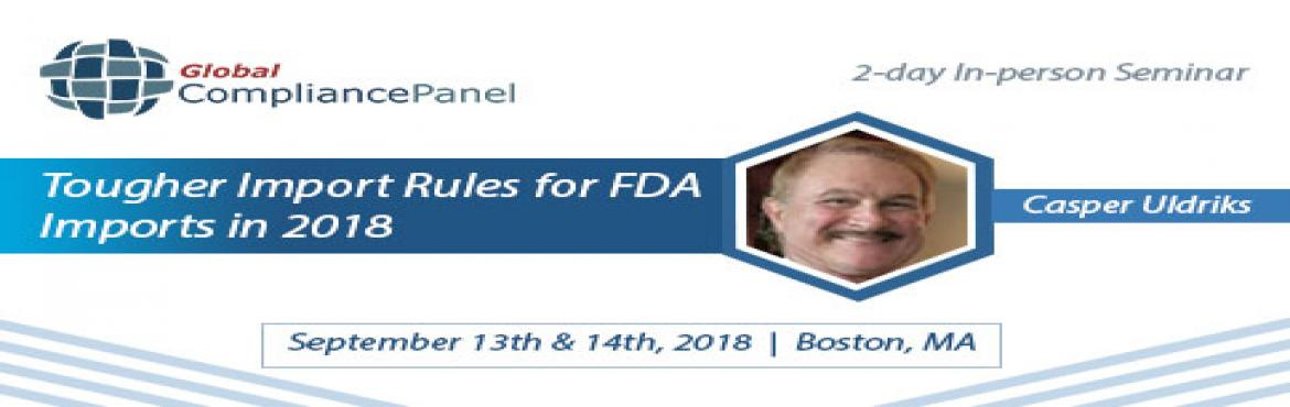 Book Online Tickets for  FDA Export Program 2018, Revere. Course \