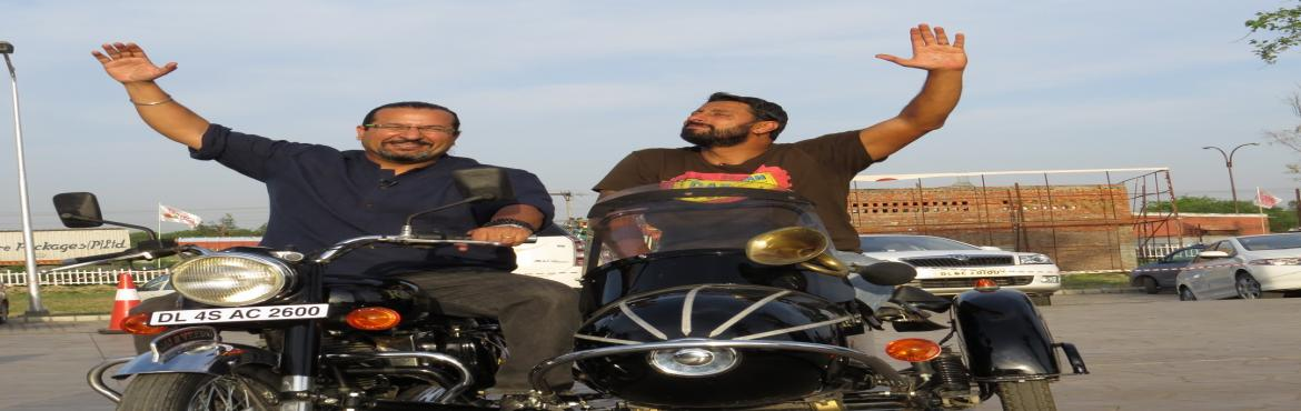 Book Online Tickets for Launch of Sons of Thunder with Rocky and, New Delhi. The famous adventurous duo Rocky and Mayur are visiting DLF Promenade on July 28, 2018 to launch the 'Sons of Thunder' an exhilaratingly high-octane collection of motor cycle writing. The book is a perfect treat for motorbike fans and giv