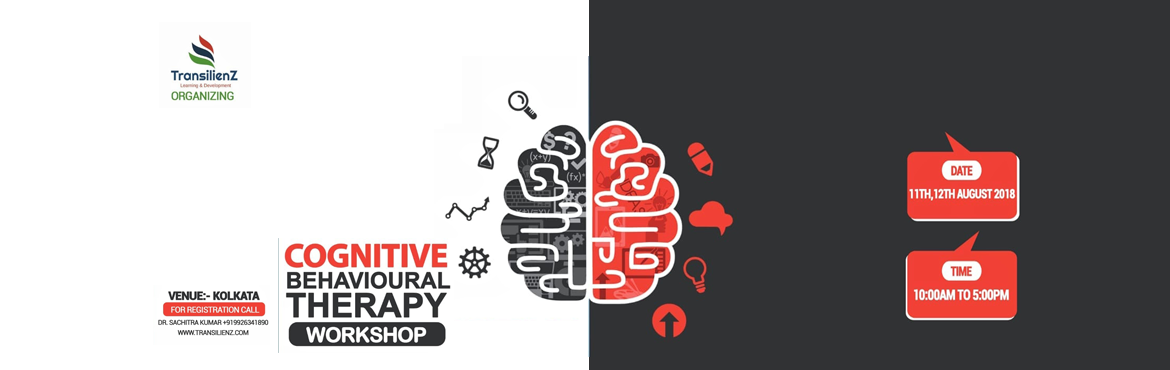 Book Online Tickets for CBT Workshop at Kolkata, Kolkata. COGNITIVE BEHAVIOURAL THERAPY WORKSHOPWhat is CBT?Cognitive behavioral therapy is a short term goal oriented Psychotherapy which focuses on how your thoughts, beliefs & attitudes affect your feelings and behaviour. It teaches you coping ski