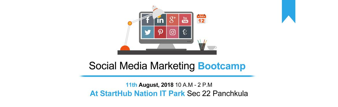 Book Online Tickets for Social Media Marketing Bootcamp, Panchkula.  The Social Media Marketing Bootcamp is an Exclusive Workshop for Entrepreneurs to Discover Everything they Need to Know to leverage the Power of Social Media Marketing to Successfully Grow their Business Online.Here is What you will learn:-➤