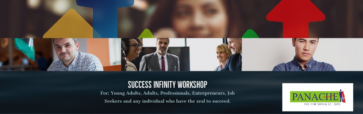 Book Online Tickets for Success Infinity, Hyderabad. We believe that anyone can succeed if they prepare themselves for the next level in their education or career. To do so, you must exploit every opportunity to learn. Our Success Infinity Workshop is a Practical & Powerful workshop that can