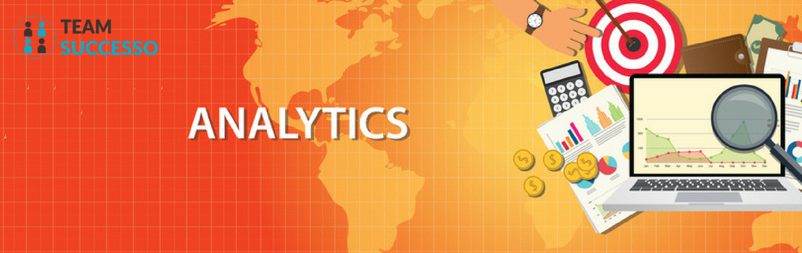 Book Online Tickets for Google Analytics for E-Commerce marketin, Bengaluru.  E-Commerce marketing can be tough, especially with high competition, low conversion rate and high churn rate. Most of the time solutions to these problems can be found in the insights you gather from the analysis of traffic to your online store and
