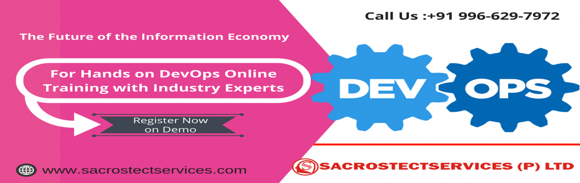 Boost your  Career Knowledge on DevOps technology By Availing Sacrostect services Free Online DevOps Demo Session