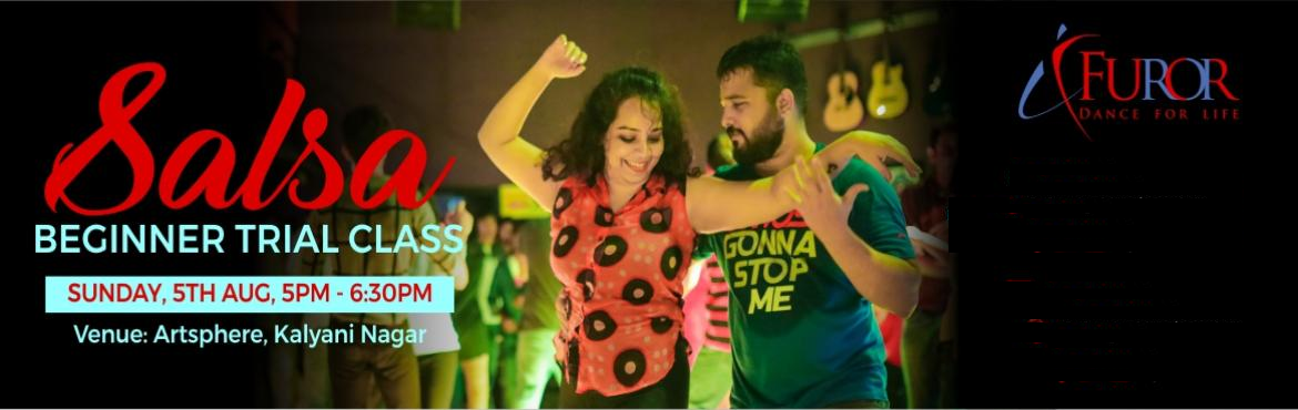 Book Online Tickets for SALSA TRIAL CLASS for Beginners | 5th Au, Pune. Not sure if Salsa dancing is for you? Take this Salsa Level 1 Trial class and find out for yourself. :) Get to know Salsa, a worldwide popular social dance form, in a fun environment along with like minded people. You will be learning the basics of f
