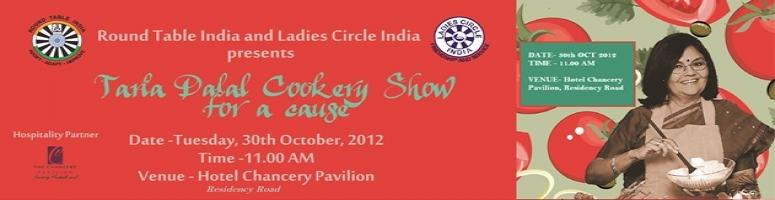 Tarla Dalal Cookery Show -Cooking for a Cause