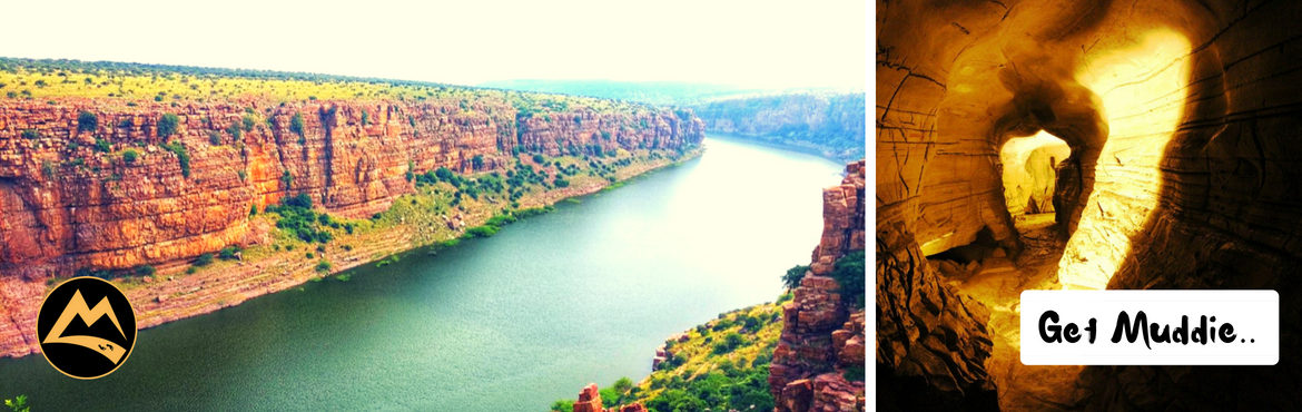 Book Online Tickets for The Gorgeous Gandikota - Camping with Co, Hyderabad. Muddie Trails presents the amazing combination of beautiful Gandikota & magnificent Belum caves!About the destination: Gandikota on the right bank of the river Penna in Andhra Pradesh is known for its spectacular gorge formed by river Pennar that