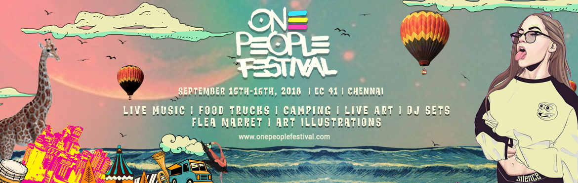 Book Online Tickets for One People Festival , Mahabalipu. ONE PEOPLE FESTIVAL is a celebration of creativity. 36 hours festival of fun, frolic and fiesta with artists and creators ranging from art, music and dance. 100+ Artists performing in 5 different stage at Chariot Beach Resorts, Mamallapuram -our venu