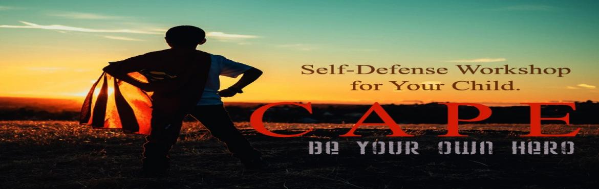 Book Online Tickets for Self Defense (Krav Maga) Workshop , Hyderabad. How to handle conflict is a key skill starting from Classroom to Boardroom. CAPE is a two-day workshop designed to develop this skill in your child. It is based on the Detect, Diffuse, and Defend framework which is applicable to everyday scenarios yo