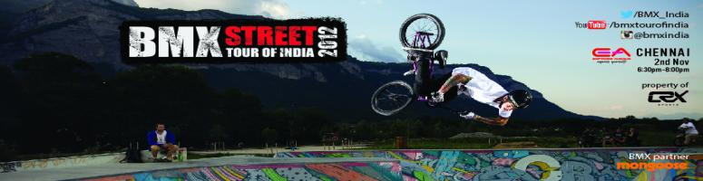BMX Street Tour of India 2012 - Chennai