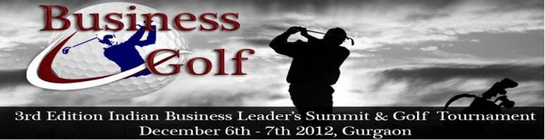 The 3rd Indian Business Leader\'s Summit and Golf Tournament