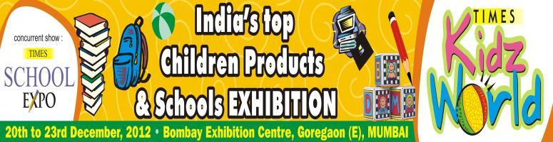 Book Online Tickets for Times Kidz World, Mumbai. THE MOST COMPREHENSIVE EXHIBITION ON CHILDREN PRODUCTS & EDUCATION & NEEDS - NOW IN THE WESTERN SUBURBS !