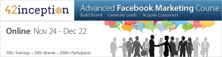 Advanced Facebook Marketing Online Course