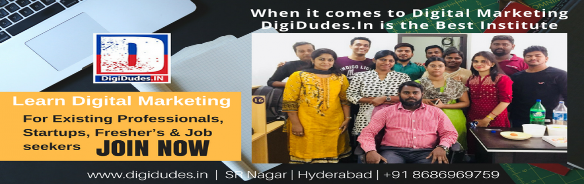 Book Online Tickets for Learn Advanced Digital Marketing, Hyderabad. Learn Advanced Digital Marketing Digital Marketing is a $100bn business. It has jobs in Google, Accenture, Cognizant in Hyderabad.  Be a part of the Digital rRevolution. Enroll Today To Explore The World Of Digital Marketing & Get Placed In