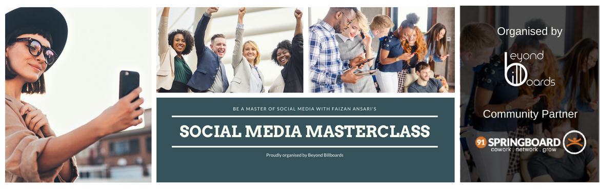 Book Online Tickets for Social Media Marketing Masterclass for S, Pune. Join us for the \