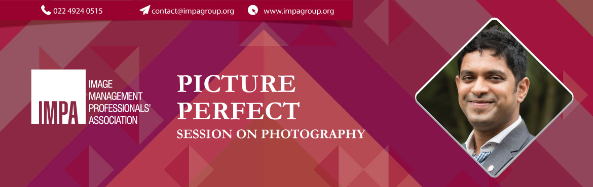 Book Online Tickets for Picture Perfect, Pune. ABOUT THE EXPERT - Ranodeep Sen Ranodeep (Ron) has been a practitioner of Photography for the last 5 years. He is one of the founding members of Pune Photography Lovers group , which has more than 4000+ members and which runs Photo Walks for enthusia