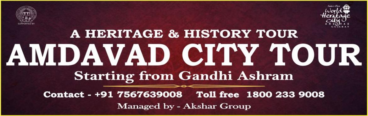 Book Online Tickets for AMDAVAD CITY TOUR, Ahmedabad. Time:- 01:30PM to 09:00PM Pickup Point:- Hotel Toran (Gandhi Ashram) Reporting Time:- 01:15PM Drop Point:- Hotel Toran (Gandhi Ashram) *Gandhi Ashram *Sardar Patel National Memorial (Sardar Patel National Memorial Ticket Included In Package) *Huthees