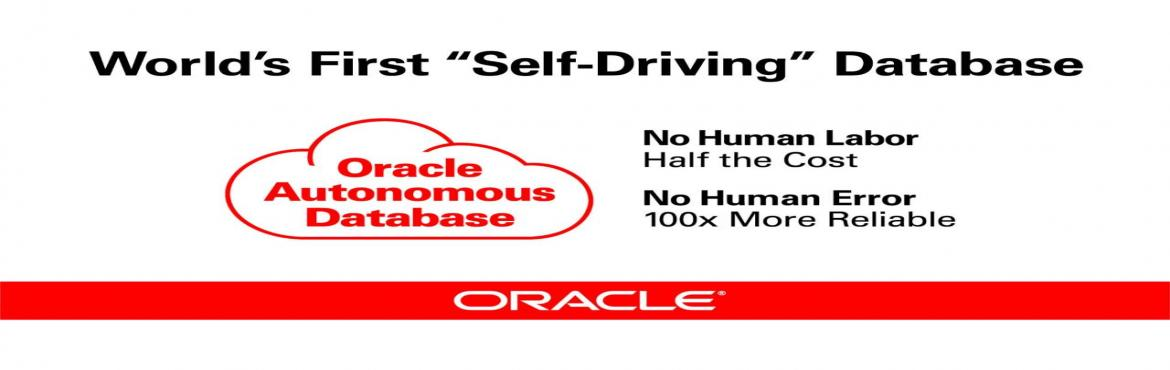 Book Online Tickets for AIOUG-NI Chapter Autonomous Tech Day, Gurugram. AIOUG-NIChapter Autonomous Tech Day Date & Venue: September 8th, 2018 @ Fidelity Gurgaon Key Speaker: Vivek Sharma & Prashant Dagar   Session I: Autonomous Transaction Processing Database.  Larry recently announc