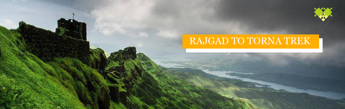 Book Online Tickets for Rajgad to Torna Trek (25-26th Aug), Pune. Rajgad and Torna, both prominent forts of Swarajya, are connected by a 9 km long ridge.The aim is to reachto the top of Rajgad from gunjavane village and then trek to torna top and descend from there to velhe village in one go. The trek to thes