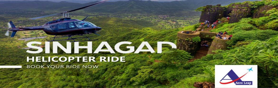 Book Online Tickets for Helicopter  joy Ride @Sinhagad , Pune. Live Your DreamWe are presenting you point of attraction to travellers and situated at the peak altitude of Sahyadri mountain range, aero jaunt of these forts.Aero jaunt of historical Forts.. Much Aspired Helicopter Ride.A mesmerizing mom