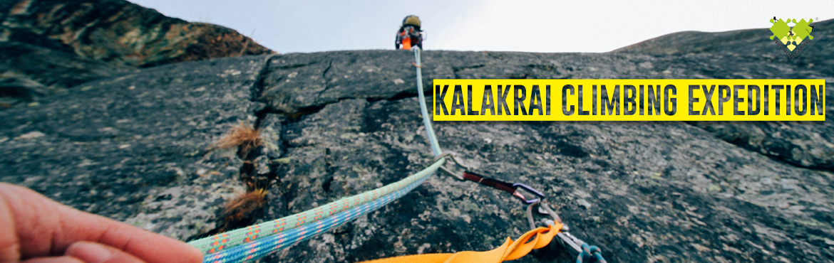 """Book Online Tickets for Kalakrai Climbing Expedition on 25th Nov, Pune. """"Kalakrai Climbing Expedition"""" being a difficult pinnacle in Maharashtra, very few trekkers manage to reach top. The technical expertise needed to climb this pinnacle as reaching summit involves 200 ft technical climbing & while desce"""