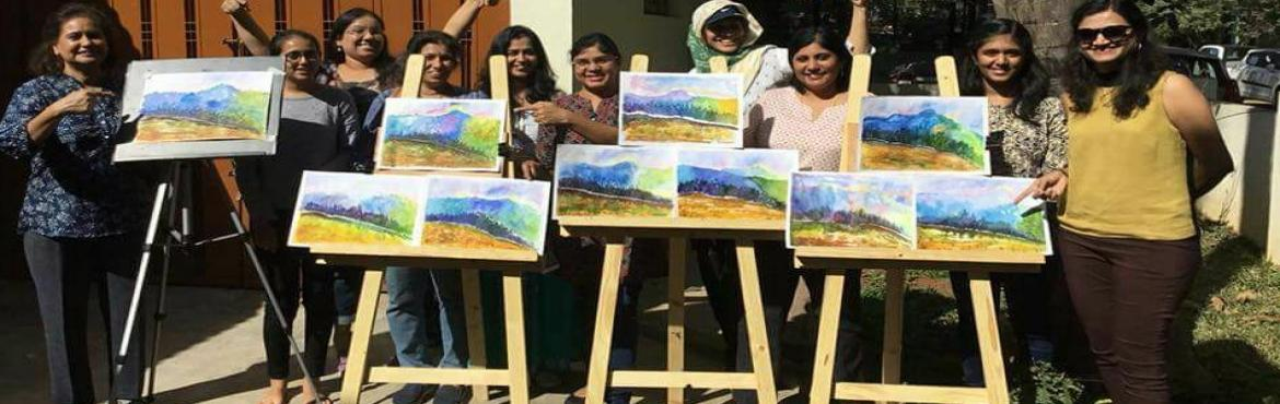 Book Online Tickets for Water Colour Workshop For Beginners, Bengaluru. Ever noticed that bolder dash of dark tint that suddenly makes the entire work pop!  Want to add that inspired stroke to your own paintings?This is a water colour workshop to understand colour values - discover and play around with the basic 5 tints