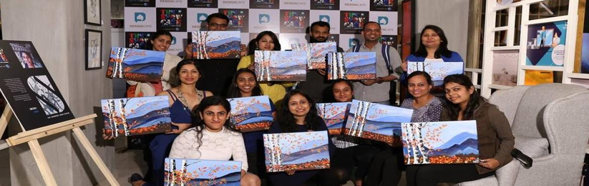 Book Online Tickets for Knife Painting Workshop, Bengaluru.  Learn all about palette knife painting techniques using acrylic on a canvas. The whole point of painting with a palette knife is to lay the paints thick, to create a rich painting, full of texture & energy. Join this fun session of Knife Pa