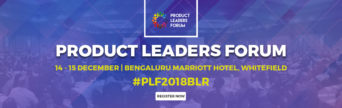 Book Online Tickets for Product Leaders Forum (PLF) Bangalore 20, Bengaluru. PLF is a volunteer-driven non-profit for practitioners, by practitioners. Our mission is to create an essential and unique platform for Product Leaders. We bring together diverse perspectives & robust dialogue around product thinking; thus enabli