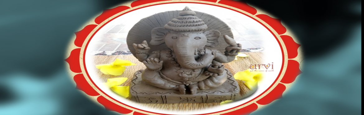 Book Online Tickets for MAKE YOUR CLAY GANESHA..., Hyderabad. MAKE YOUR CLAY GANESHA, A workshop by \'Urvi Terracotta\' This Ganesh Chaturthi say NO to Ganesha made up of plaster of paris and say YES to eco-friendly idols that are made up of clay. Lets pass on traditional practices to next generation.Let